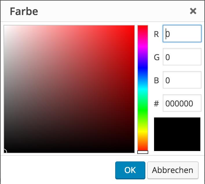 Farbpalette Online